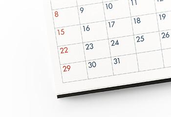2017年12月の担当医予定表と年末年始の診療について。